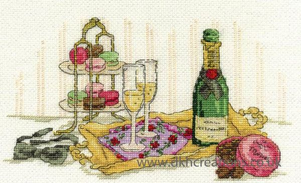 Indulgence Cross Stitch Kit
